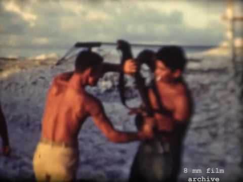 Troops In The Pacific During World War II - Home Movie