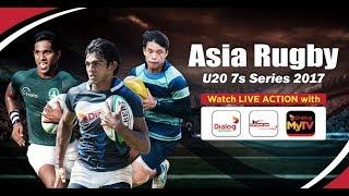 Sri Lanka vs Chinese Taipei – Asia Rugby U20 Sevens - Match 4