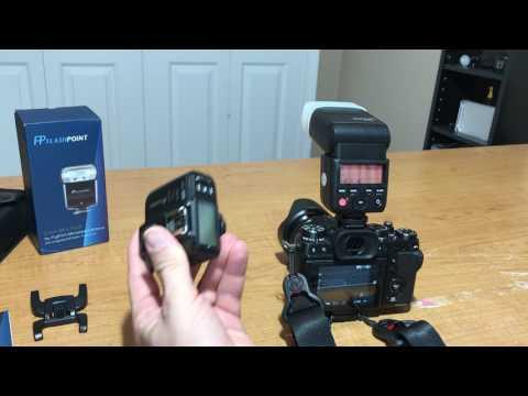Flashpoint Zoom Mini Fuji / Godox TT350 F Fuji TTL HSS Flash