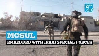 Exclusive: Embedded with Iraqi special forces in Mosul