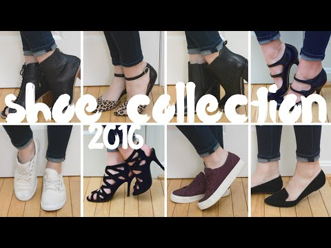 Shoe Collection 2016 | Boots, Flats, Heels, & Sneakers