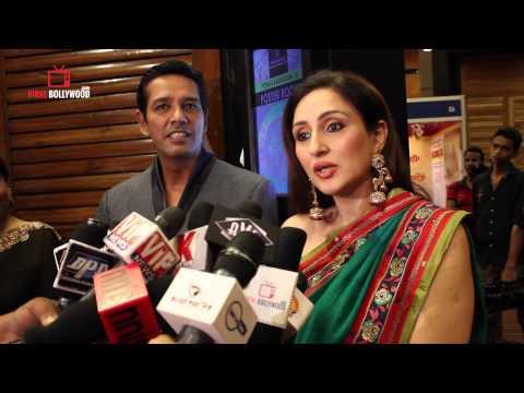 Anup Soni and Juhi Babbar at Nisha Fashion Show
