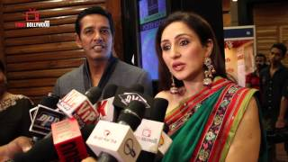 Anup Soni and Juhi Babbar at Nisha Fashion Show