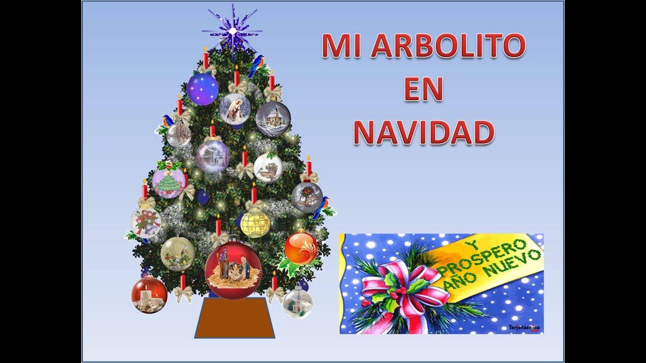 Mi arbolito en navidad youtube - Arbolito de navidad ...