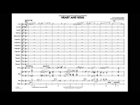 Heart and Soul arranged by John Clayton