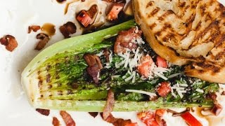 Grilled Romaine Salad Recipe By Sam The Cooking Guy