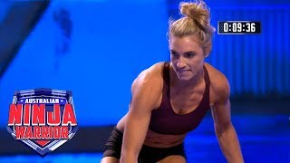 Ninja Run Lauren Hannaford Australian Ninja Warrior 2018 Youtube