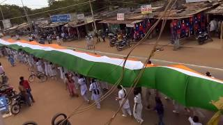 On independence day in kandukur rally is made by chaithanya techno school.3gp