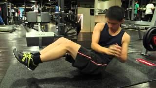 初階腹肌訓練(示範)