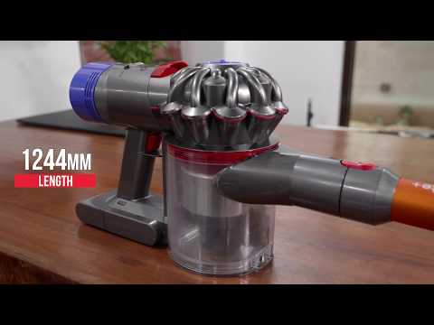 Dyson V8 Absolute Plus Vacuum Cleaner Unboxing and First Look