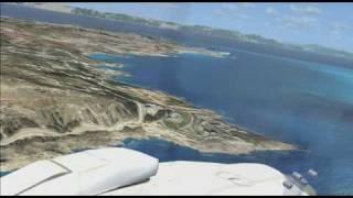FSX north Rhodes trip