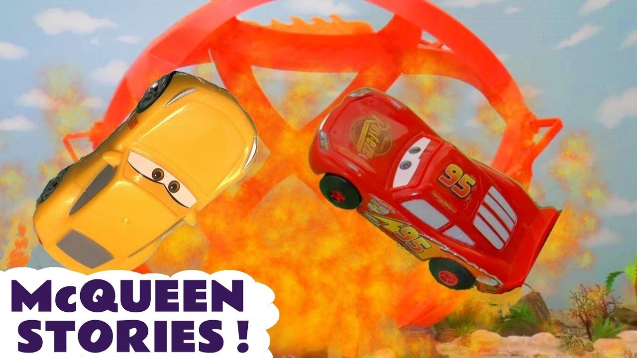 Learn Colors with Cars McQueen Toy Stories and Races for kids and children TT4U