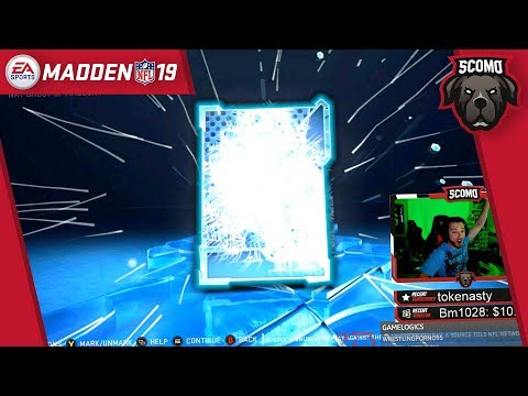 Pure Anarchy! 11 Ghost of Madden Packs! This Was Wild! - Madden NFL 19