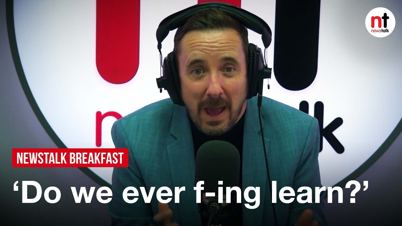 Download 'Do we ever f-ing learn in this country?' Shane Coleman says the government are trying to buy votes