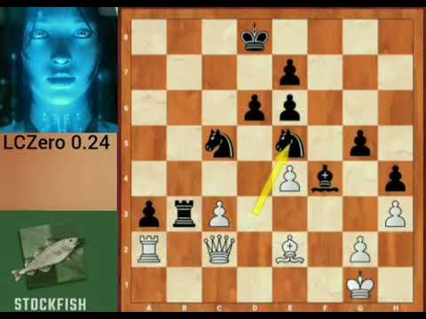 Stockfish 11 VS leela chess zero