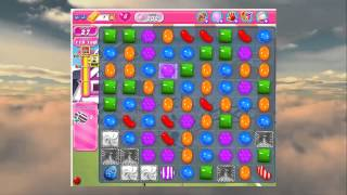 Candy Crush - How To Beat Level 232 in Candy Crush Walkthrough Saga - No Boosts - Score 186,100