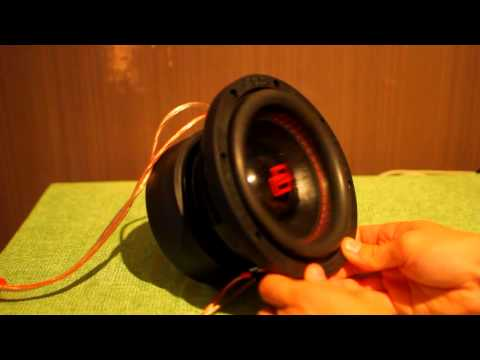 """DD 506 Redline 6"""" Subwoofer - Up close and personal"""