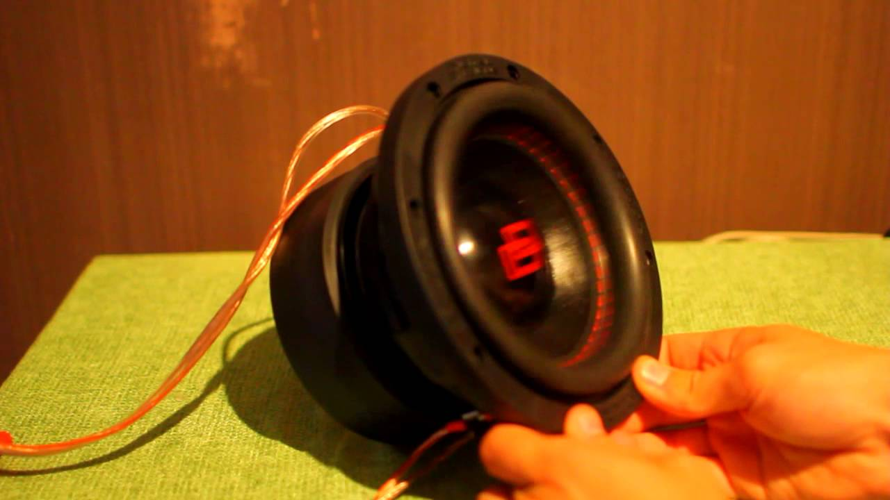Dd 506 Redline 6 Quot Subwoofer Up Close And Personal Youtube