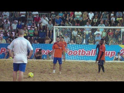 13th Pattaya Beach Football Cup France England EP 3