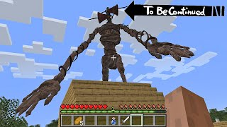 This is Real SIREN HEAD in Minecraft To Be Continued part 2
