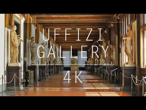 Uffizi Gallery Tour 4K | Galleria Degli Uffizi, Firenze