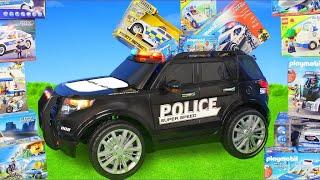 Voiture de police  - Camion  jouets pour enfants Police Car Toys