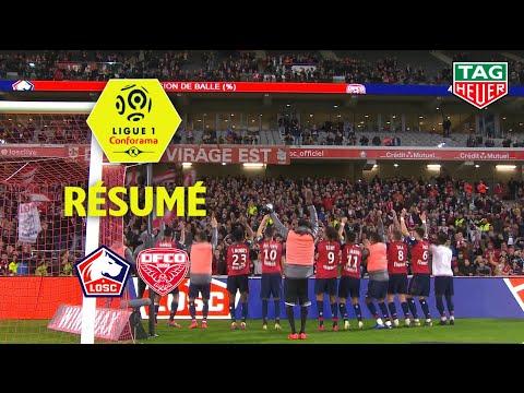 LOSC - Dijon FCO ( 1-0 ) - Résumé - (LOSC - DFCO) / 2018-19