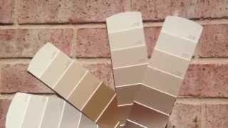 Exterior Paint Sample Colors Pink Brick