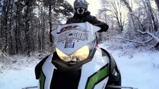 STV 2016 Meet the Test Rider Brad with the STV Arctic Cat Fleet Review