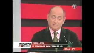 Desnudo de Nicole Neumann - Escándalo y decepción (30-08-2007) Impacto Chiche