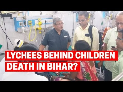 Lychees responsible for the children death in Bihar?