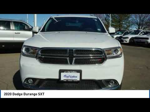 2020 Dodge Durango Fort Collins CO 5483
