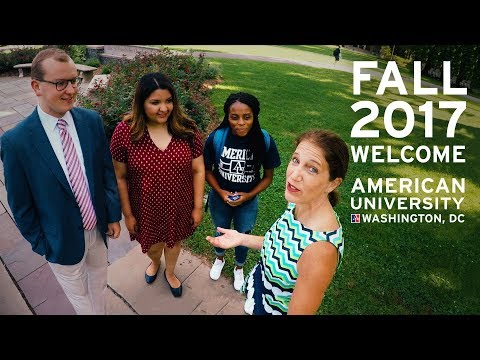 Welcome to American University- featuring President Sylvia M. Burwell