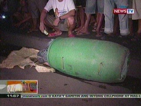 BT: Lalaking nakasilid sa drum, nakita   sa Tondo, Manila