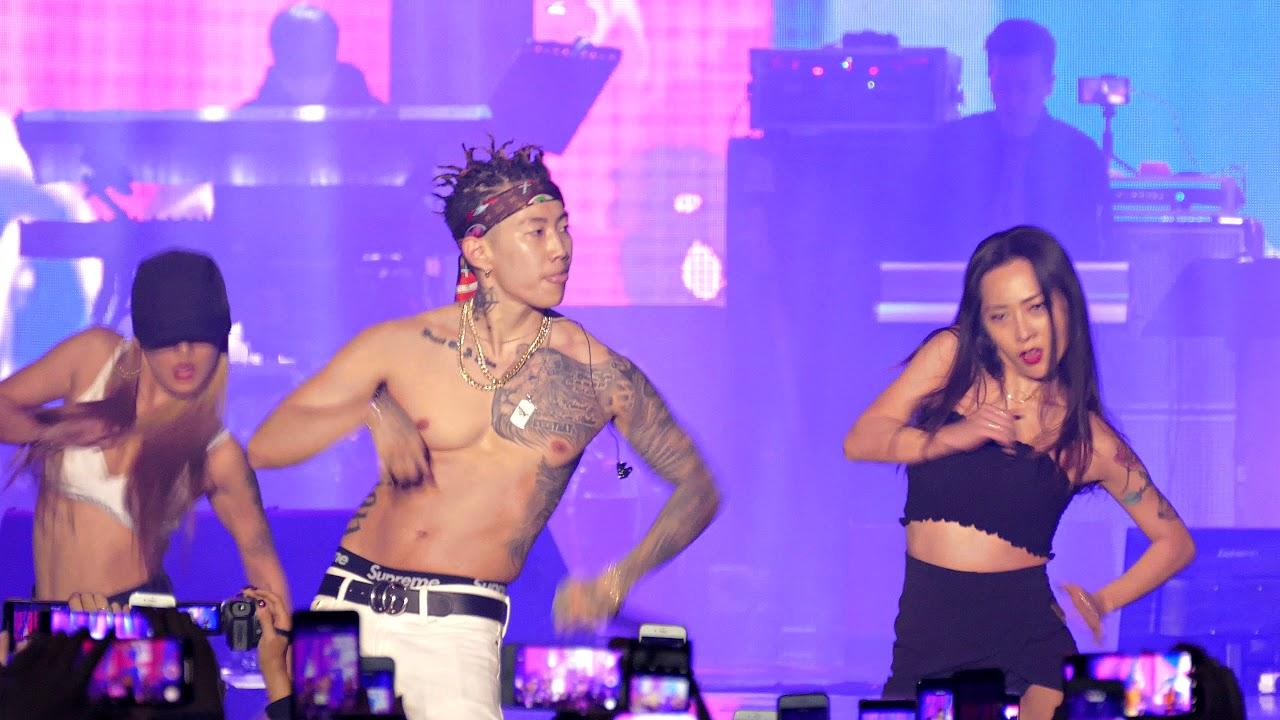 180913 박재범 Jay Park - 몸매 Mommae with 허니제이 & 베이브 (Honey J & Babe \