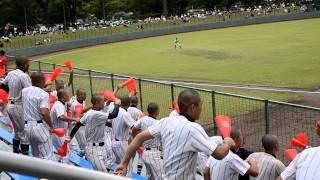 2011.07.24 浦和学院vs秀明英光 浦学野球部の応援風景(1)