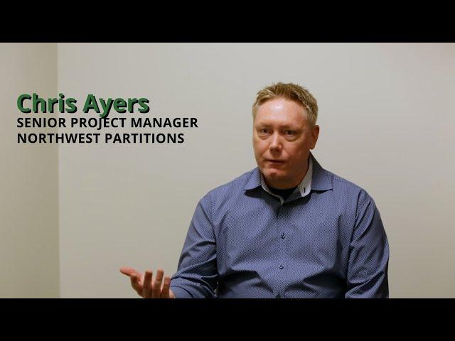 Chris Ayers - Northwest Partitions - PM Basic Training Testimonial