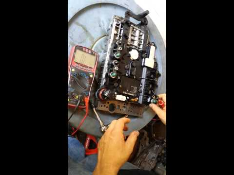 Mercedes Transmission solenoid test