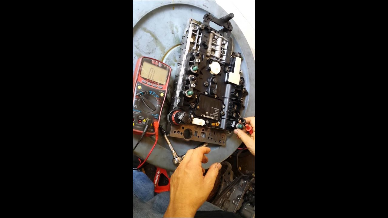 How To Rebuild Automatic Transmission >> Mercedes Transmission solenoid test - YouTube
