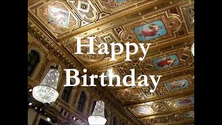 Happy Birthday  | Manfred Honeck | Wiener Symphoniker
