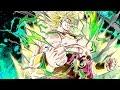 LSSJ Broly vs Goku Black! [4K] Mono PHY Team vs Goku Black 50 Stamina Stage! DBZ Dokkan Battle!
