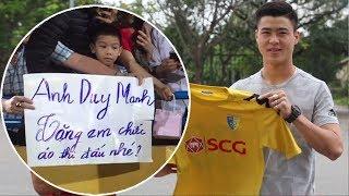 Điều Ước Bóng Đá tập 1 : Đỗ Duy Mạnh U23 Việt Nam bất ngờ xuất hiện tặng áo cho Fan nhí