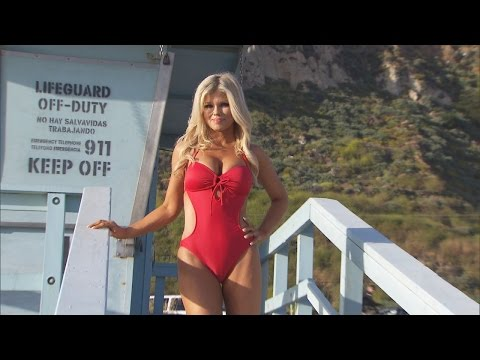 Why 'Baywatch' Star Donna D'Errico Is Back In a Red Swimsuit at 49