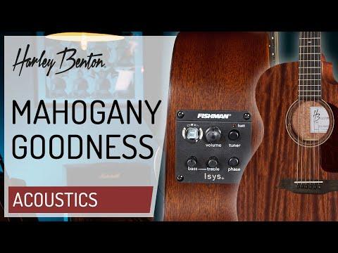 Harley Benton - CLA-15MCE - Custom Line - Acoustic Guitar - Presentation - Presentation -