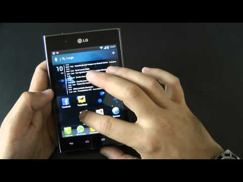 Lg Optimus Vu videoreview da Telefonino.net