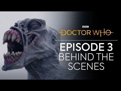 Behind The Scenes Of Tranquility Spa | Orphan 55 | Doctor Who: Series 12