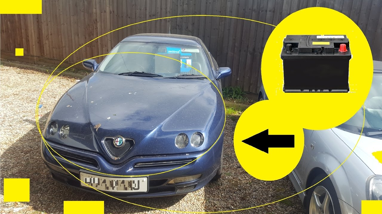 Where To Find The Battery Location On Your Alfa Romeo Gtv