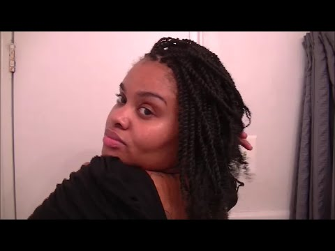 CROCHET BRAIDS Kinky Twists with Afro Twist Hair Janet Collection  YouTube