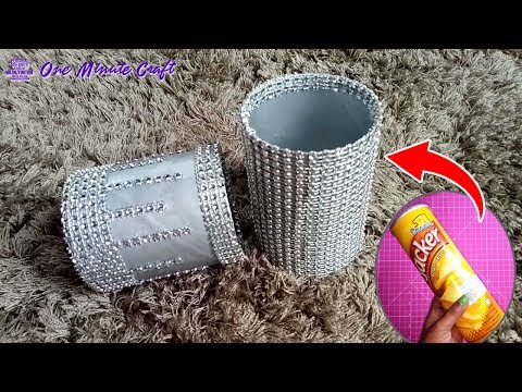 Best Craft Ideas Out of Waste Material | Tin Can Recycle Crafts