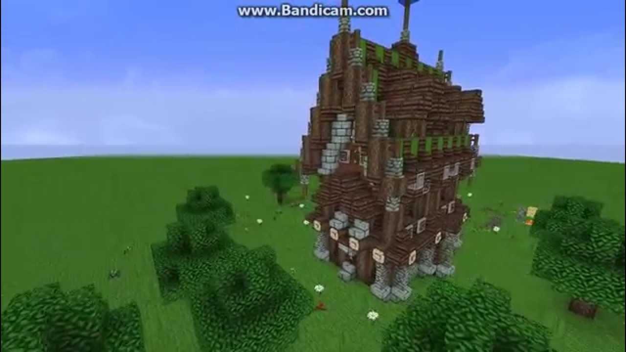 Minecraft Medieval Fantasy House Youtube